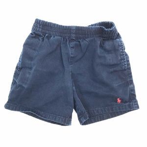 Polo Ralph Lauren* Navy Baby Shorts 4-4T